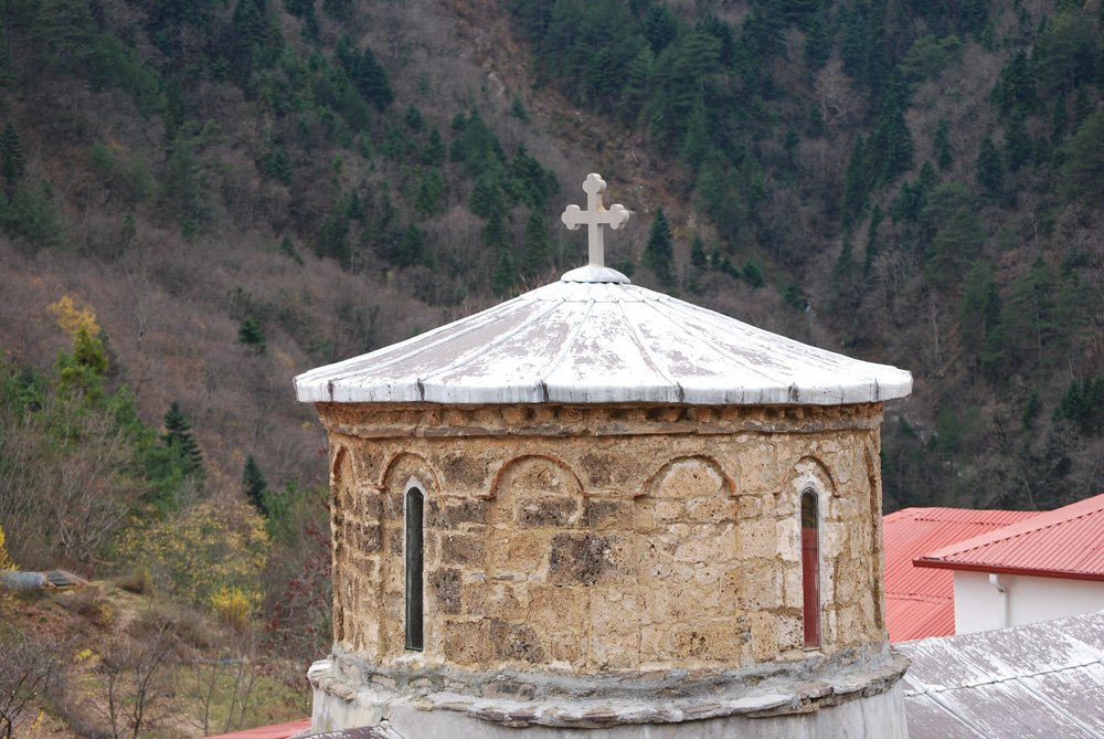 ιερά μονή παναγίας στομίου κόνιτσα